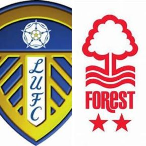 Leeds United Emblem and Nottingham Forest Emblem